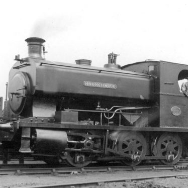 Nuneaton.  Steam engine