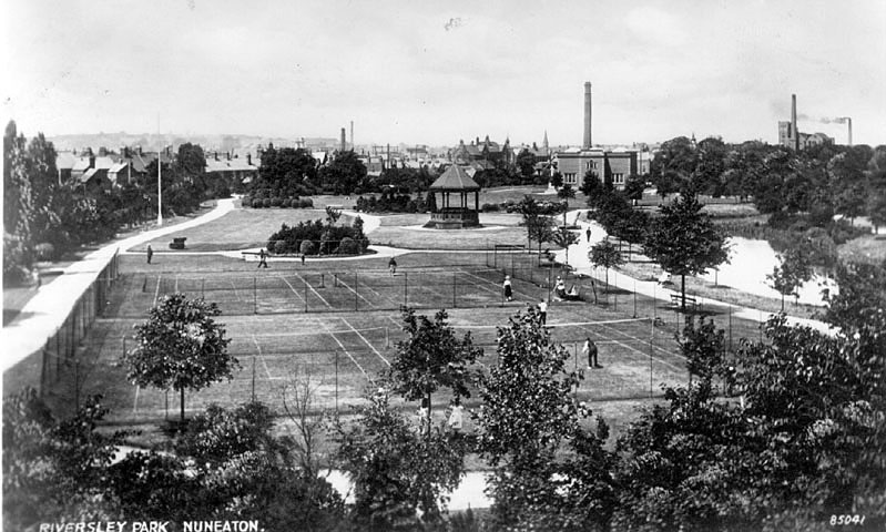 Nuneaton.  Riversley Park |  IMAGE LOCATION: (Warwickshire County Record Office)