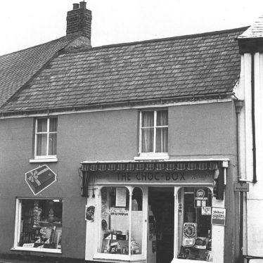 Southam.  Daventry Street, The Choc Box