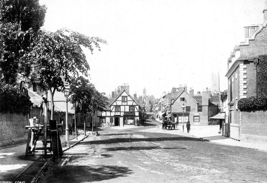 Warwick, Saint John's.  1900s |  IMAGE LOCATION: (Warwickshire County Record Office)