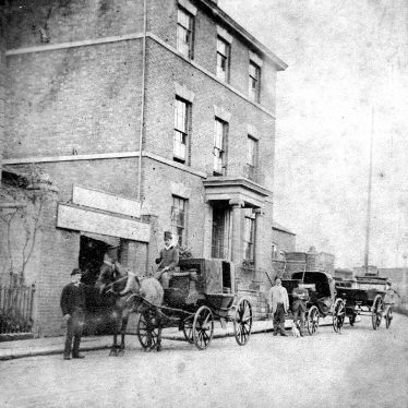 Warwick.  Saltisford, Hill House