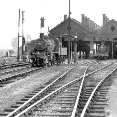 Leamington Spa.  G.W.R. locomotive shed