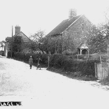 Ufton.  Village street