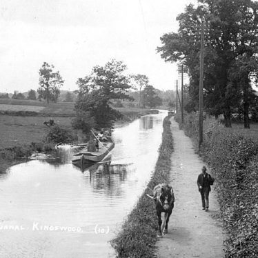 Kingswood.  Canal