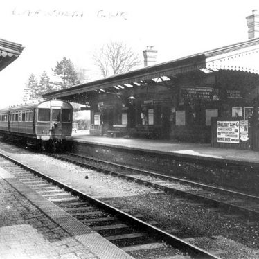 Lapworth.  Railway Station