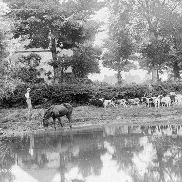 Leamington Hastings.  River Leam