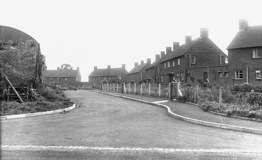 New council housing in Ufton.  1950s |  IMAGE LOCATION: (Warwickshire County Record Office)