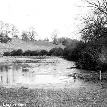 Lighthorne.  Fishpond