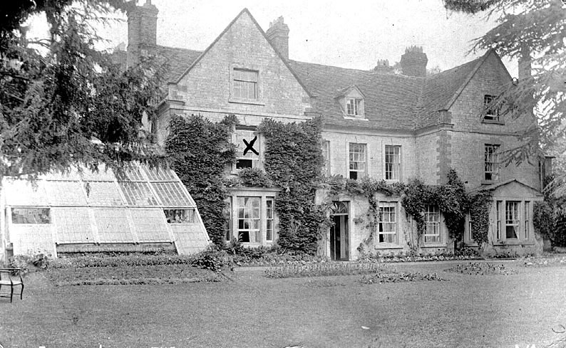 Lighthorne, The Old Rectory.  1910 |  IMAGE LOCATION: (Warwickshire County Record Office)