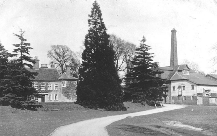 Blackdown Mills, Lillington.  1910s |  IMAGE LOCATION: (Warwickshire County Record Office)