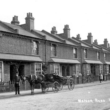 Lillington.  Manor Road
