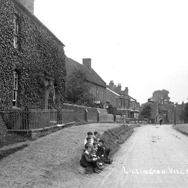 Lillington.  Village scene