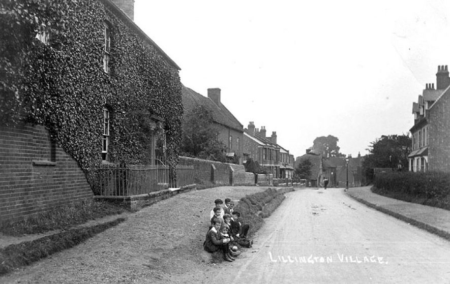 Lillington village.  1900s |  IMAGE LOCATION: (Warwickshire County Record Office)