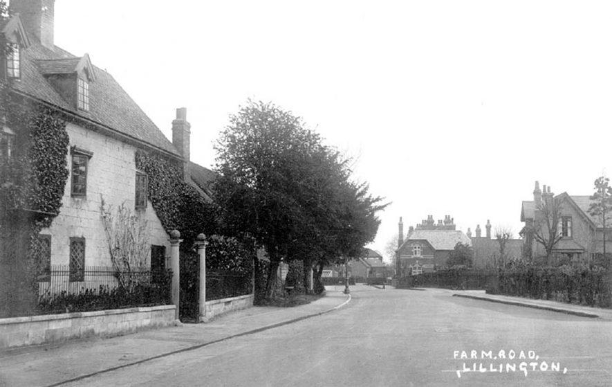 Farm Road, Lillington.  1900s |  IMAGE LOCATION: (Warwickshire County Record Office)