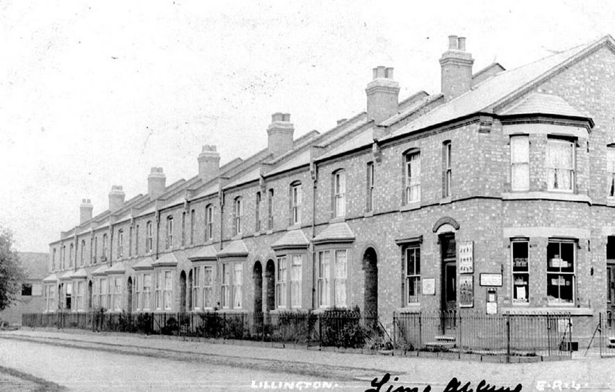 Lime Avenue, Lillington.  1900s |  IMAGE LOCATION: (Warwickshire County Record Office)