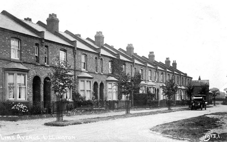 Lime Avenue, Lillington.  1920s    IMAGE LOCATION: (Warwickshire County Record Office)