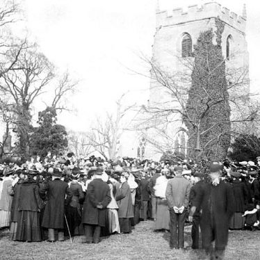 Lillington.  Funeral of Mr J.F. Rollason