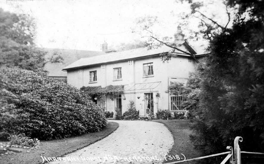 Hartshill House, near Atherstone.  1920s |  IMAGE LOCATION: (Warwickshire County Record Office)