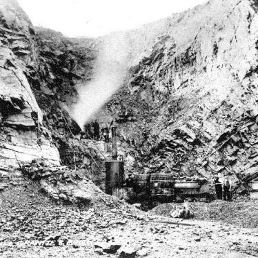 Hartshill.  Jees Granite and Brick Co. Ltd. Quarry