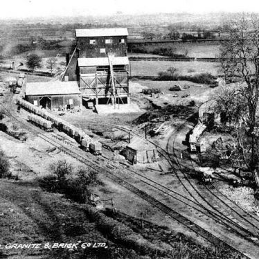 Hartshill.  Jees Granite and Brick Co. Ltd. Quarry