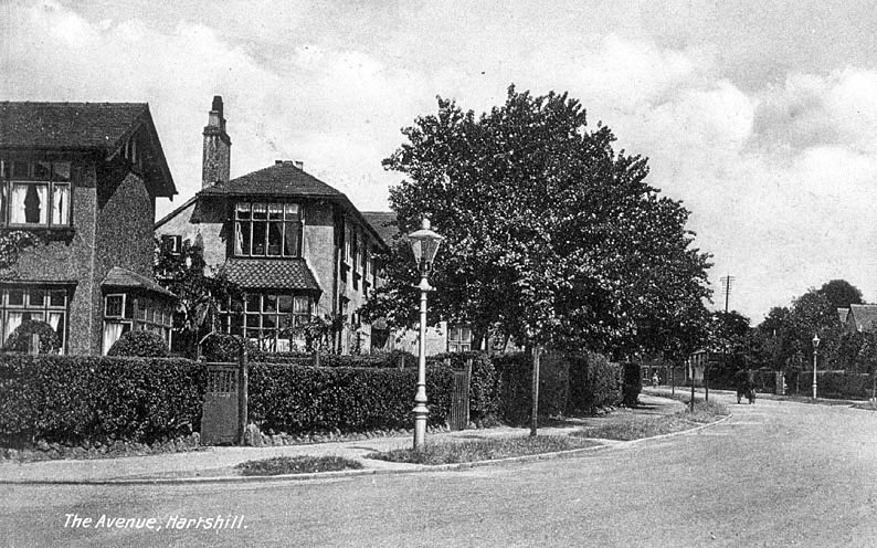 The Avenue, Hartshill.  1910
