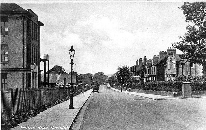 Princes Road, Hartshill.  1920s