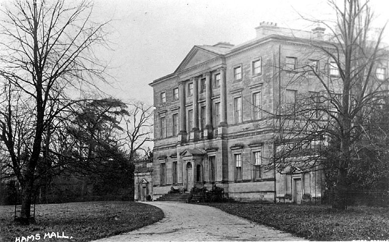 Lea Marston. Hams Hall.  1900s |  IMAGE LOCATION: (Warwickshire County Record Office)