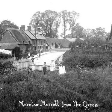 Moreton Morrell.  Village view