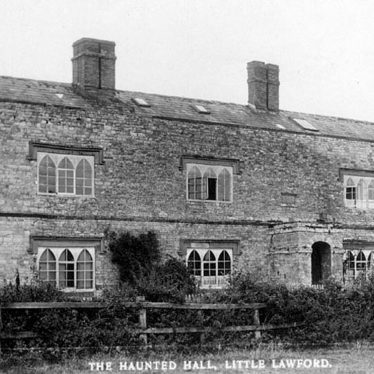 Little Lawford.  Haunted Hall