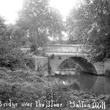 Newbold on Stour.  Talton Mill