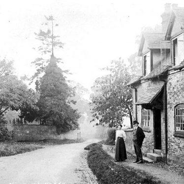 Norton Lindsey.  Vine Cottage