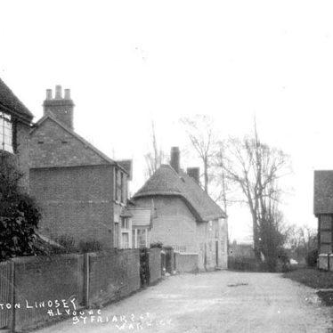 Norton Lindsey.  Village scene