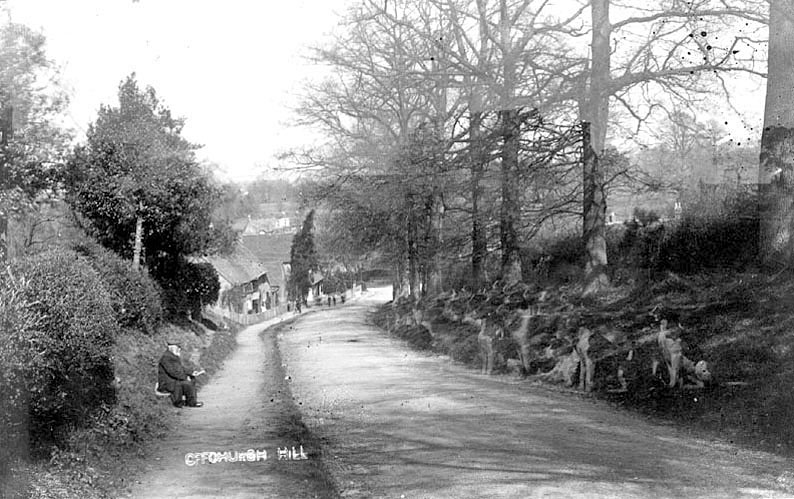 Church Hill, Offchurch.  1905 |  IMAGE LOCATION: (Warwickshire County Record Office)