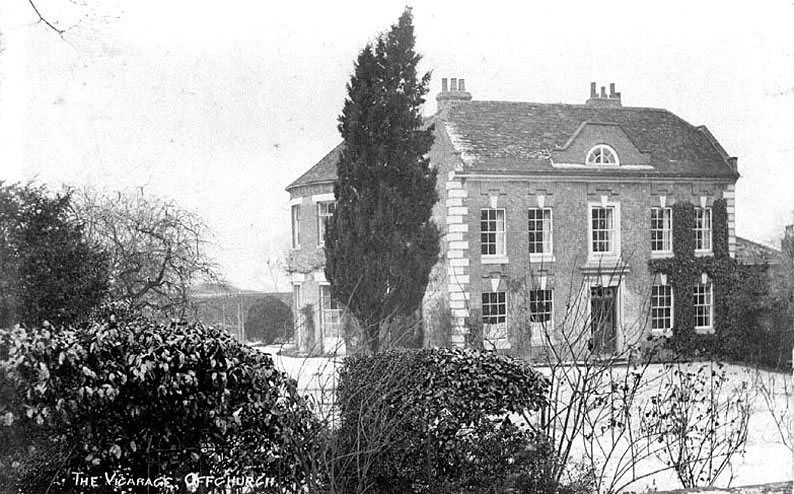 The vicarage,  Offchurch.  1900s |  IMAGE LOCATION: (Warwickshire County Record Office)