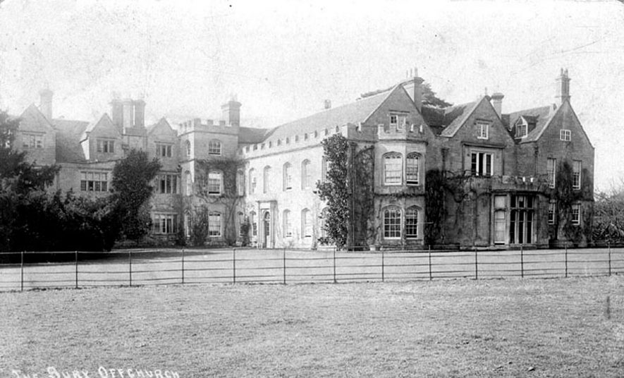 Offchurch Bury.  1900s |  IMAGE LOCATION: (Warwickshire County Record Office)