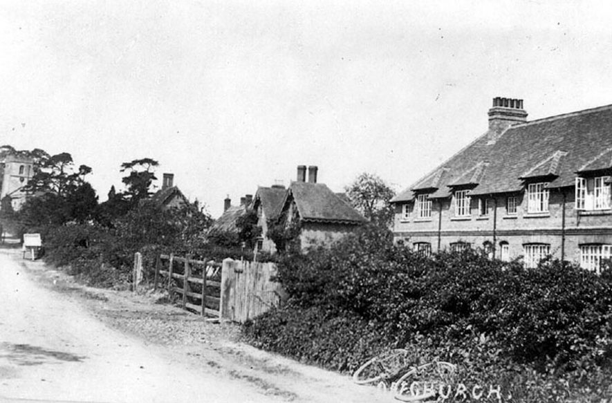 A street in Offchurch.  1920s