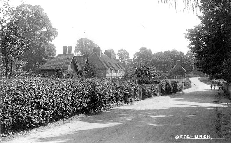 Offchurch.  1920s |  IMAGE LOCATION: (Warwickshire County Record Office)
