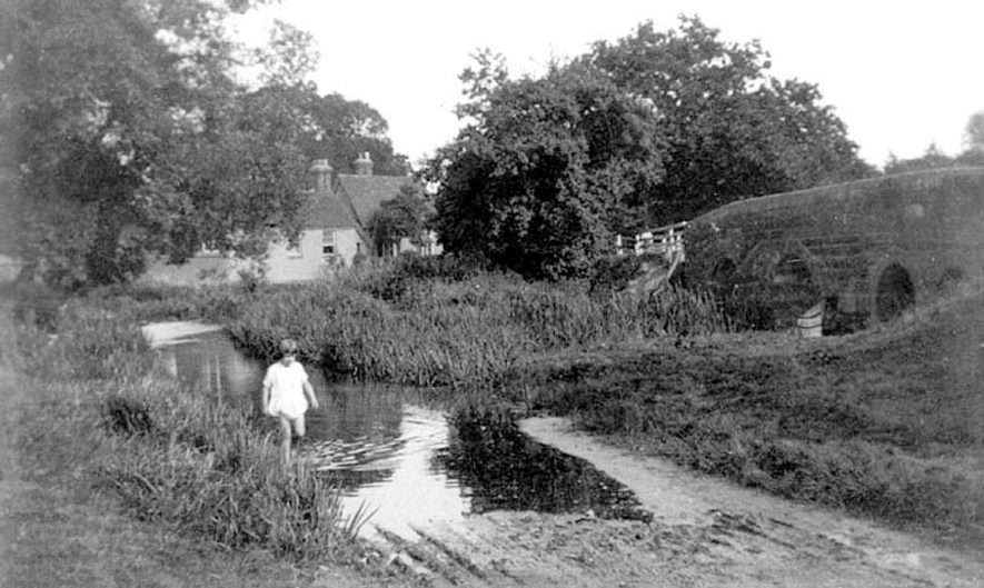 The Ford, Little Packington.  1929 |  IMAGE LOCATION: (Warwickshire County Record Office)