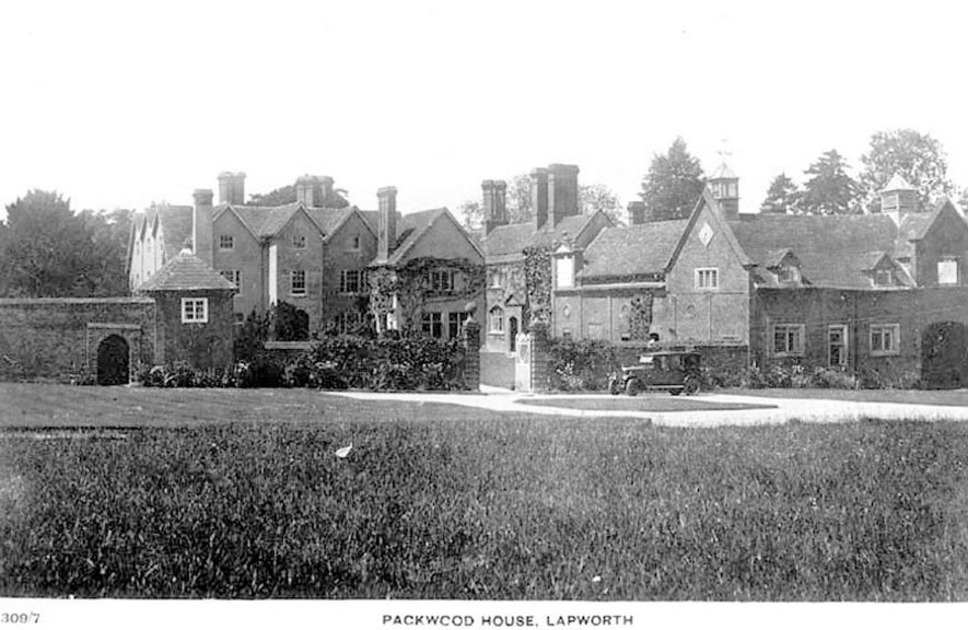 Packwood House.  1920s |  IMAGE LOCATION: (Warwickshire County Record Office)
