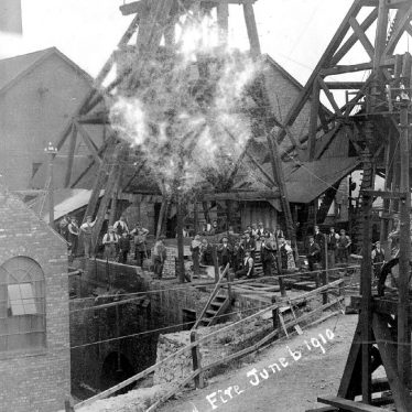Dordon.  Hall End Colliery fire