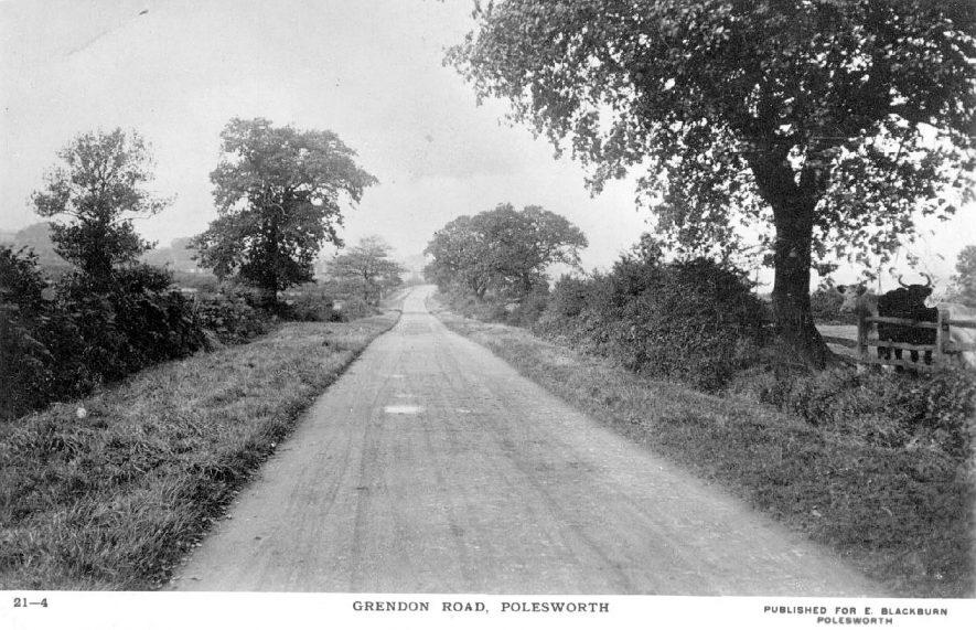 Grendon Road,  Polesworth.  1920s |  IMAGE LOCATION: (Warwickshire County Record Office)