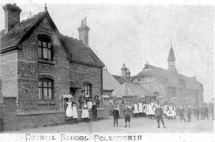 Polesworth Council school.  1907 |  IMAGE LOCATION: (Warwickshire County Record Office)