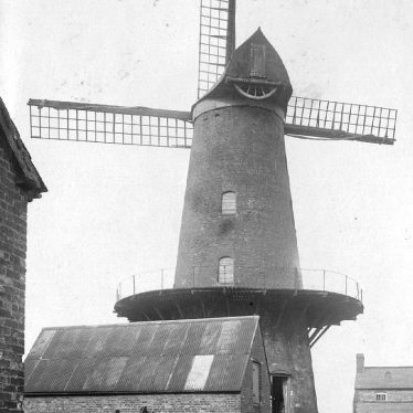 Harbury.  Windmill and Montgomery House
