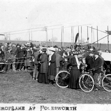 Polesworth.  Farman bi-plane