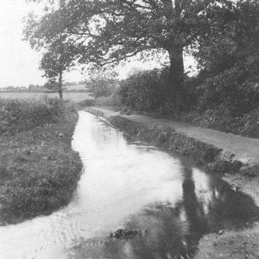 Baddesley Ensor.  Watery Lane