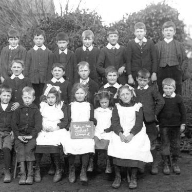 Preston on Stour.  Council School pupils
