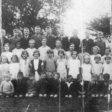 Burton Hastings.  School group photograph