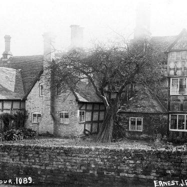 Preston on Stour.  Timber framing buildings