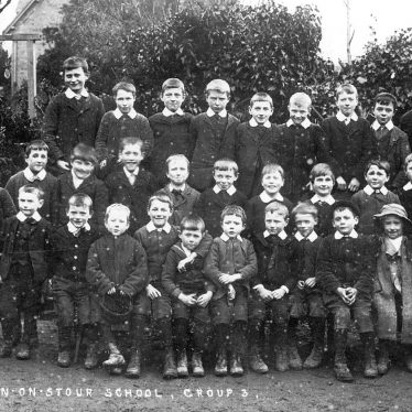 Preston on Stour.  School photograph