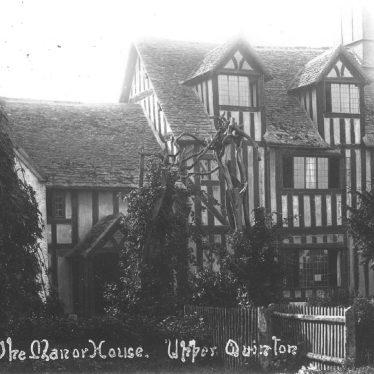 Quinton, Upper.  Manor House